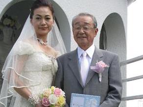 山本文郎 嫁 由美子 画像