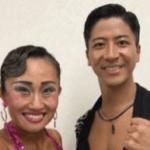 キンタロー 社交ダンス 全日本選手権の結果とアジアチャンピオン(長野)の順位は?
